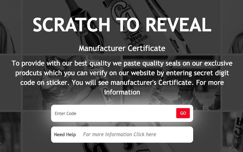 Manufacturer Certificate Image