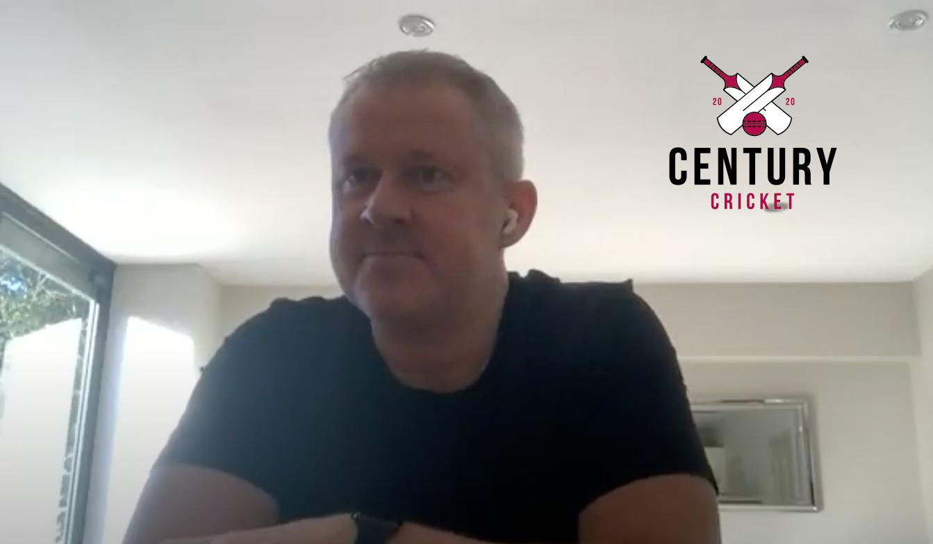 Century Cricket Meets Anthony McGrath